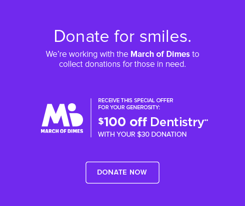 Rainsprings Dental Group and Orthodontics - March of Dimes